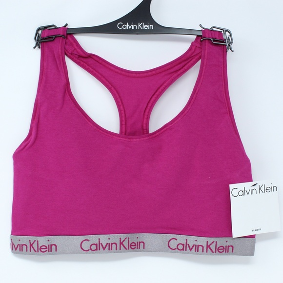 bcd8ed27d5fa Calvin Klein Intimates & Sleepwear | Radiant Racerback Bralette ...